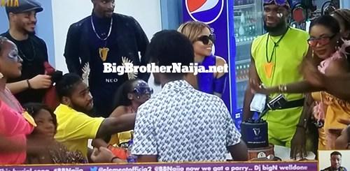 Prince Nelson Enwerem birthday celebrations on Big Brother Naija 2020 day 14