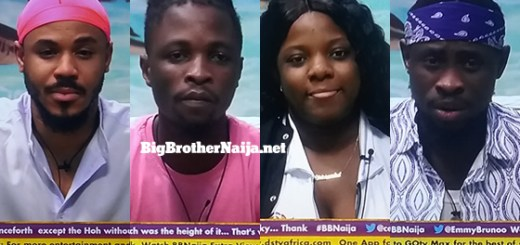 Big Brother Naija 2020 week 9 voting results