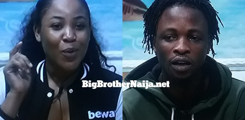 Erica insults Laycon on day 49 of Big Brother Naija 2020