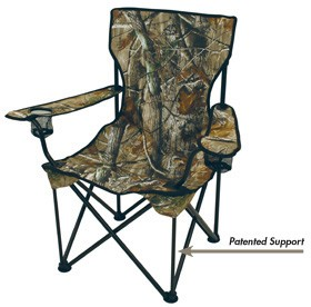 big and tall outdoor chairs 500lbs chair covers for sale spandex realtree man s cat folding camp rated to