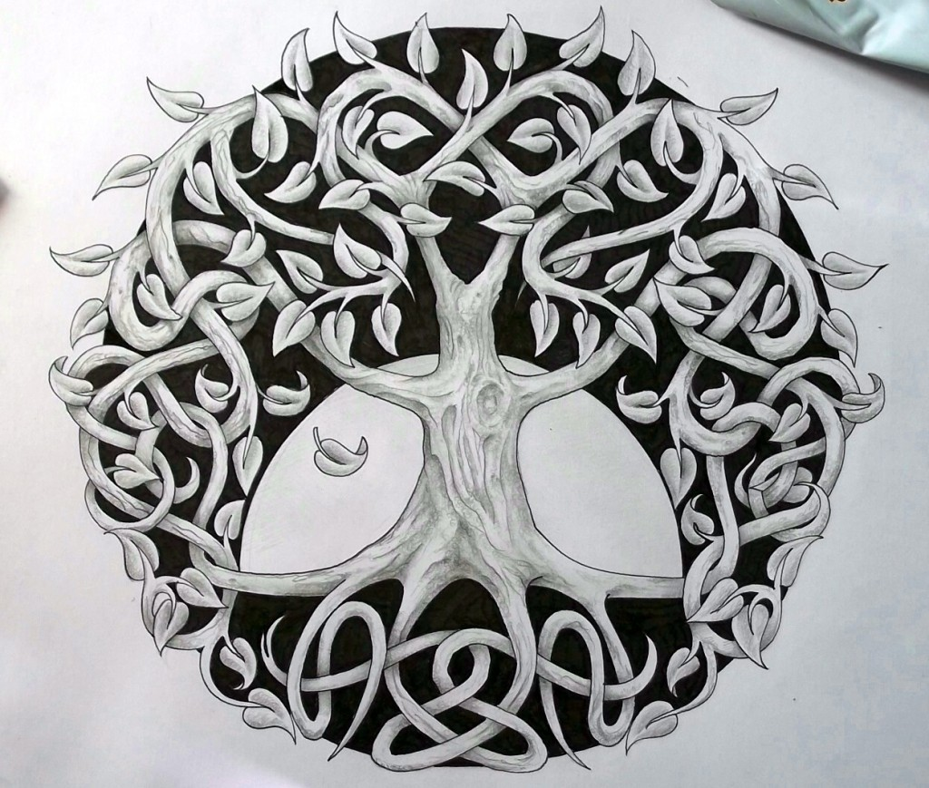Celtic Tree Of Life Meaning History Symbols Big Chi Theory