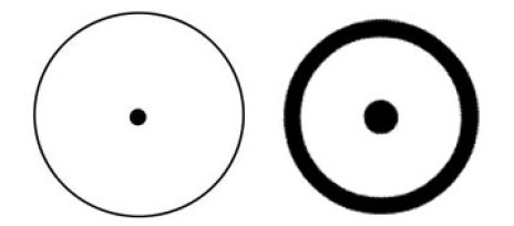 Dot Inside a Circle