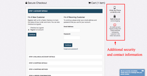 small resolution of checkout page design inspiration