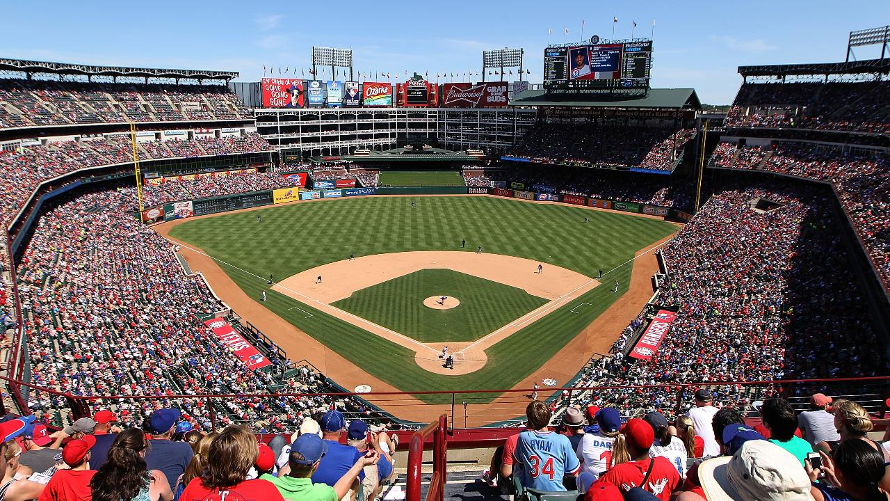 Image result for Rangers ballpark