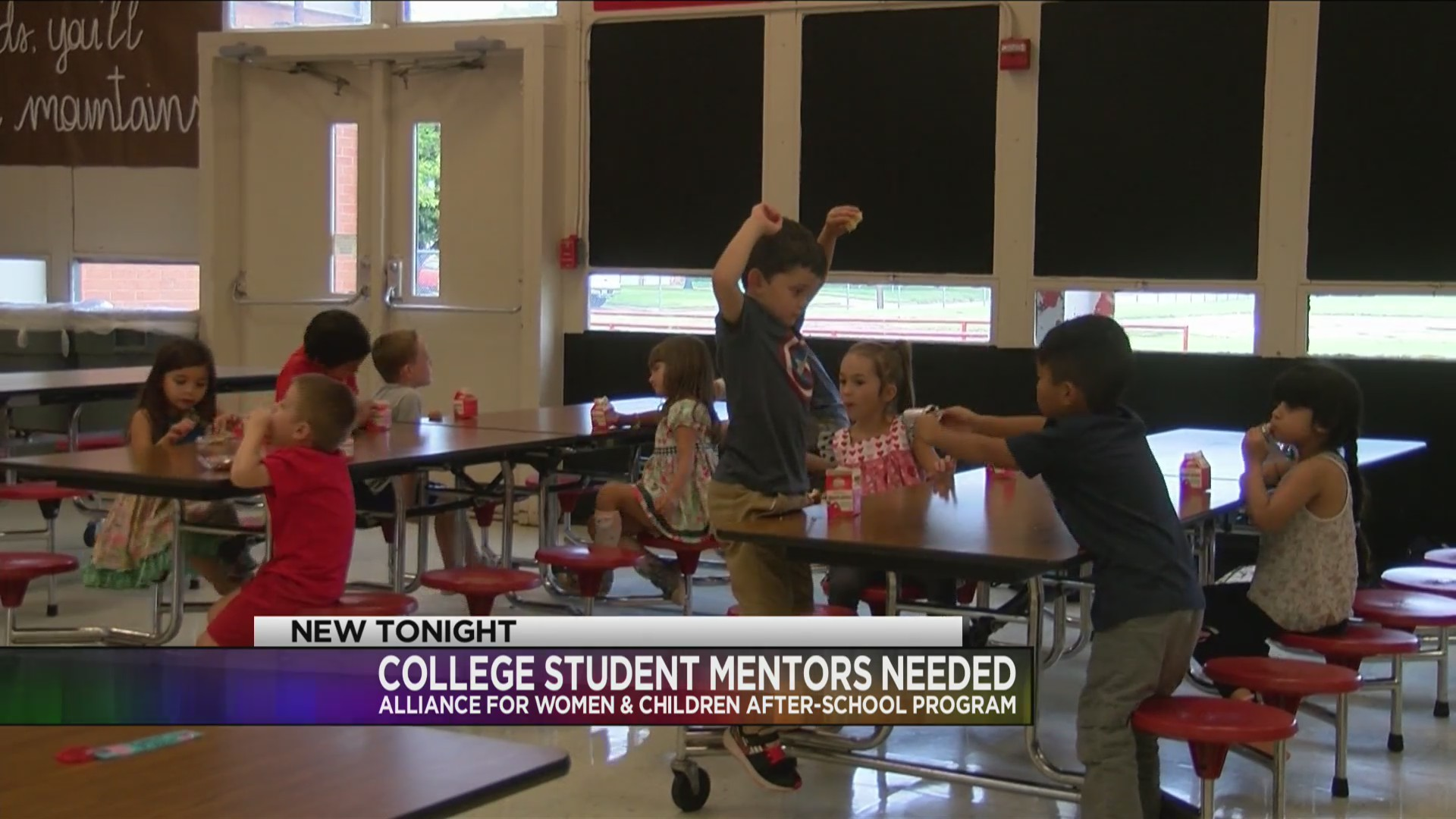 Alliance for Women and Children's after school program creating escape for college students