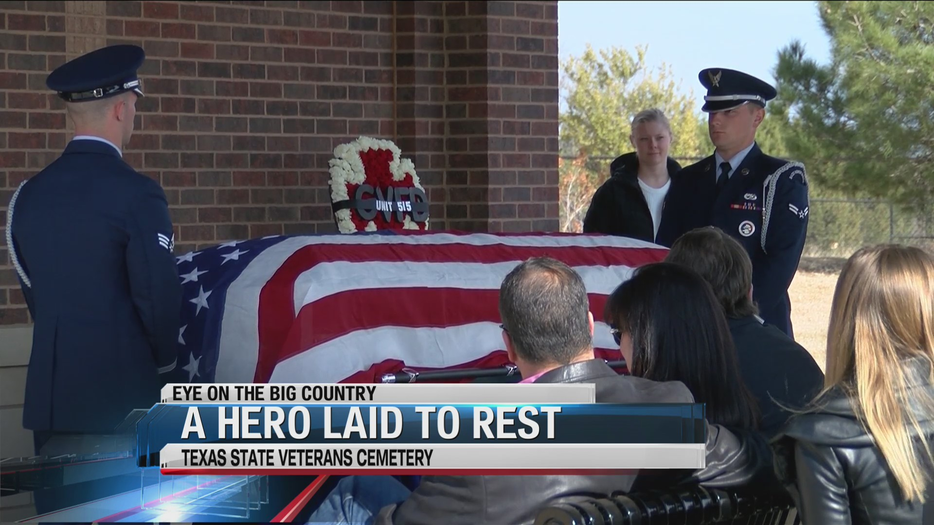 Gorman Volunteer Fire Department lays one of their own to rest