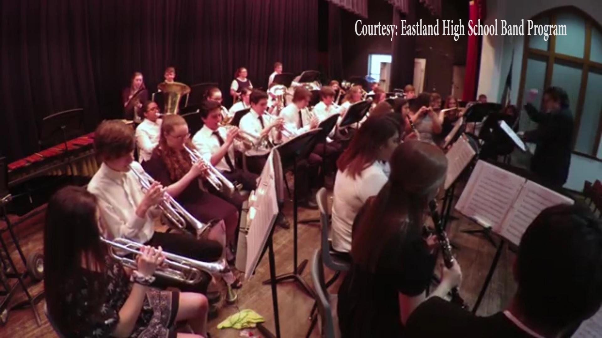 The Eastland High School Band