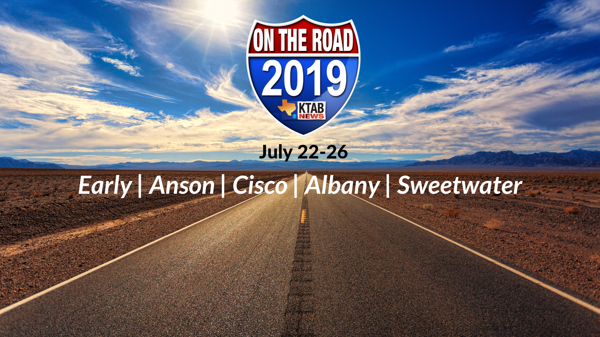 KTAB's 'On the Road' is back for 2019!