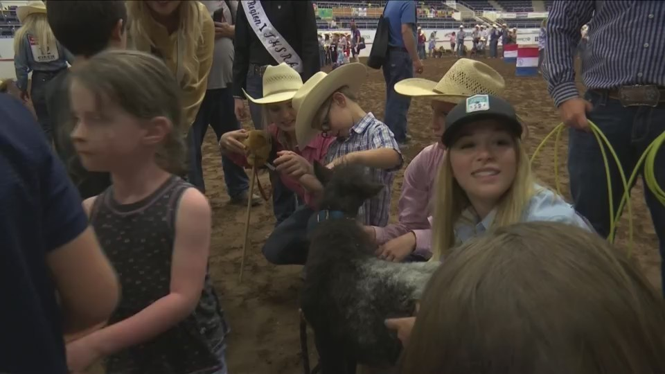 Exceptional kids rodeo held at Texas High School Finals