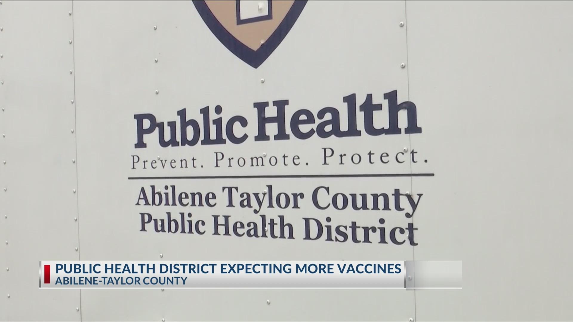 COVID-19 vaccine abilene taylor county