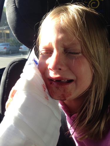 Lauren in car