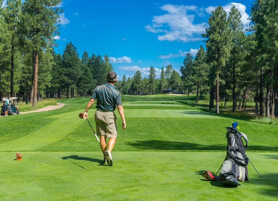 sponsored golf