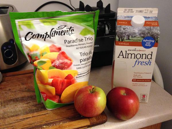 apple smoothie ingredients