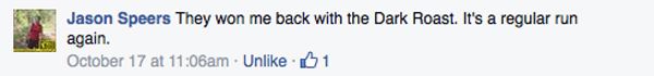 cannot do without my tim hortons jason speers fb message
