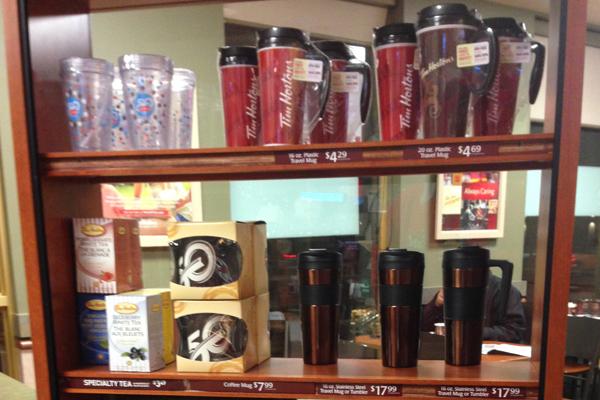 tims at home travel mugs