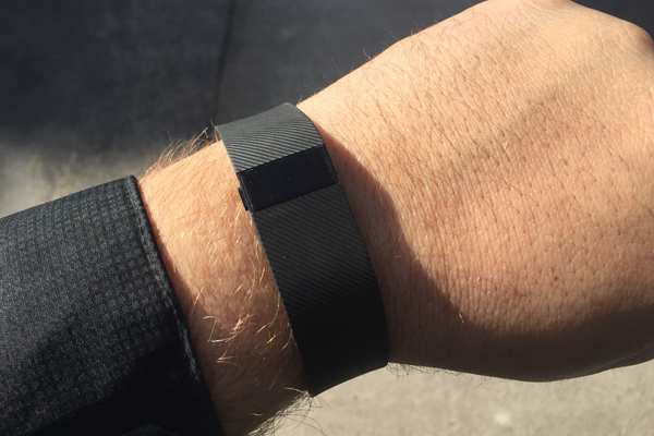 05 fitbit charge on arm outside