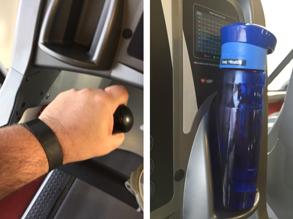 07 fitbit charge and water bottle