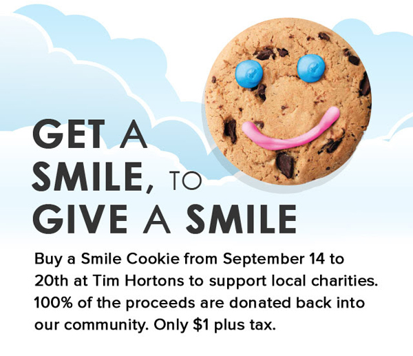 Tims Dark Smile Cookie