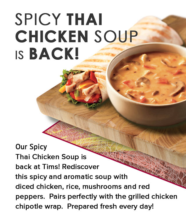 Tims Dark Thai Chicken Soup
