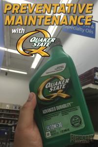 Preventative Maintenance With Quaker State