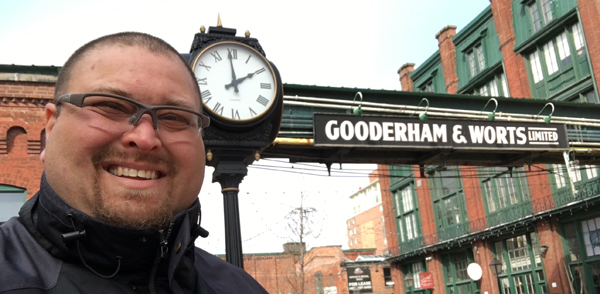 mill street Gooderham Worts sign