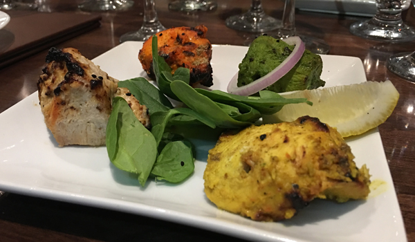 daal roti chicken mixed grill