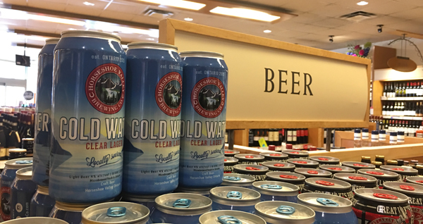 Cold Water at LCBO Oakville