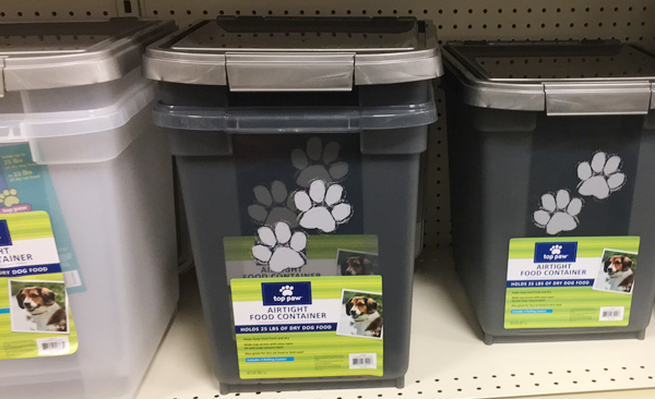 top paw food containers