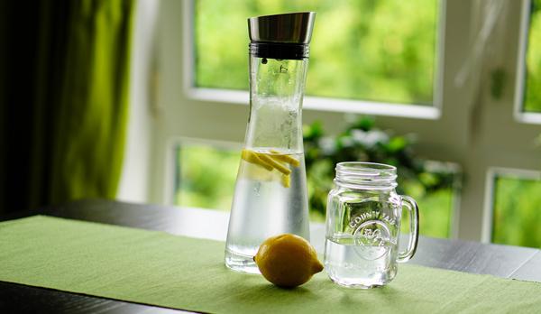 Post-Workout lemon water
