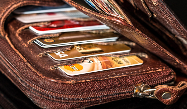 credit and bank cards vacation