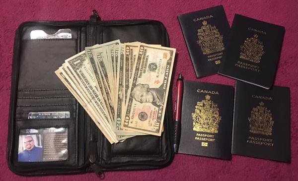 passport holder checklist