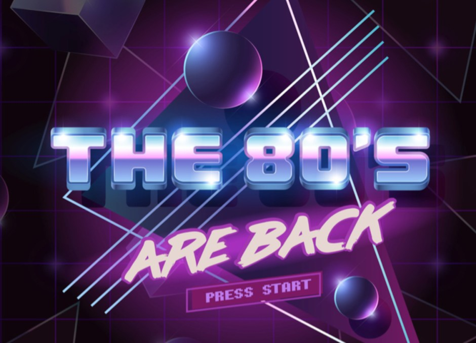 party the 80s are back