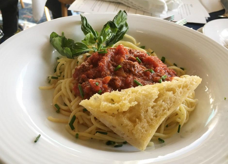 fern resort pasta dinner
