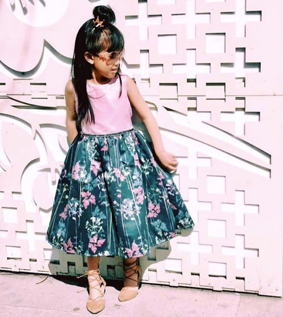 style floral dress