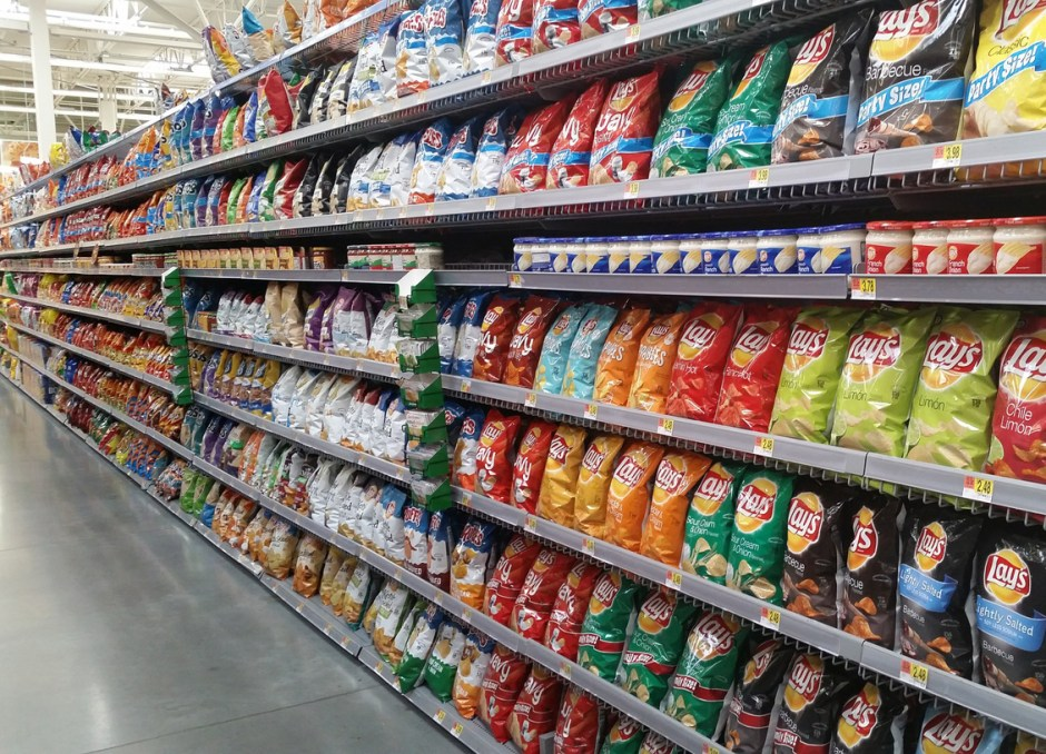 Packaging Design chip aisle