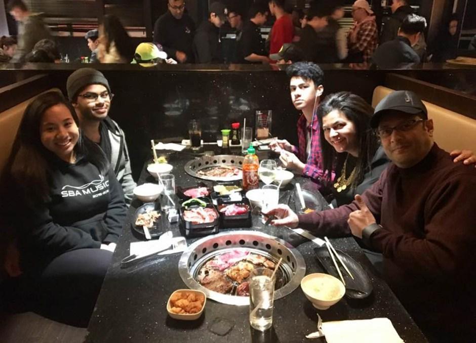 false positive family dinner