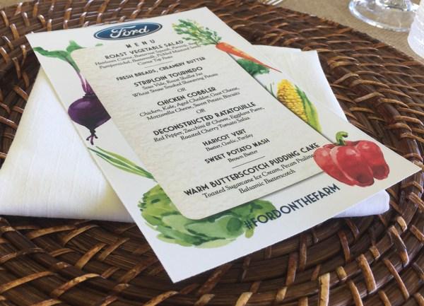 farm lunch menu