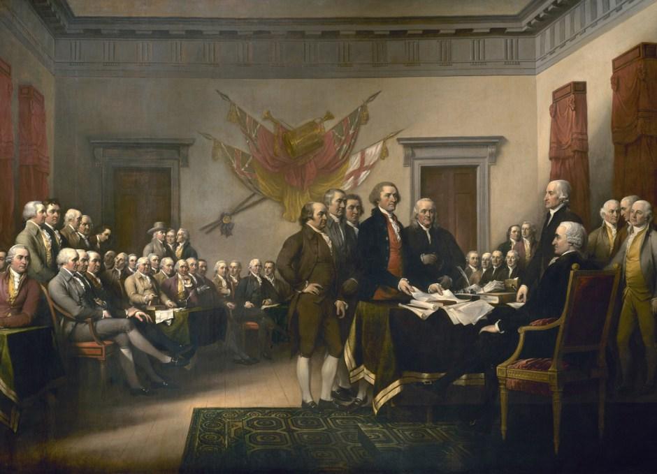 philadelphia declaration of independence