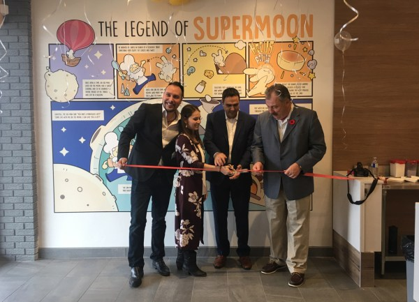 super moon ribbon cutting