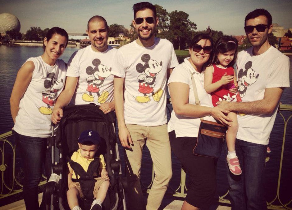 Laura Cannone extended family disney vacation