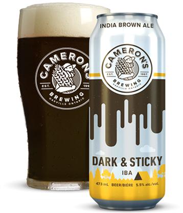 cameron's dark and sticky IBA