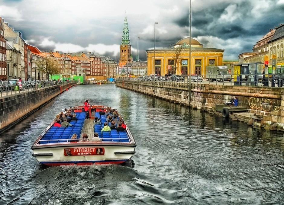 Copenhagen river