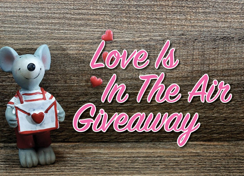 Love Is In The Air giveaway body copy