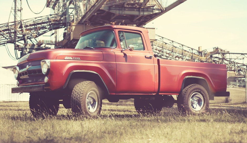 Pickup Truck older ford f100