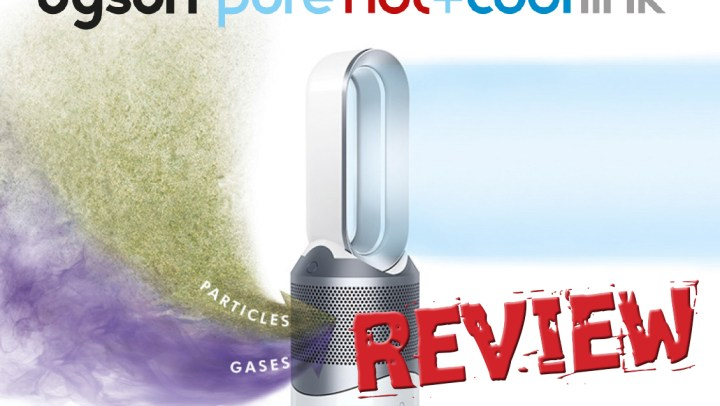 Putting the Dyson Pure Hot+Cool Link to the test! #review