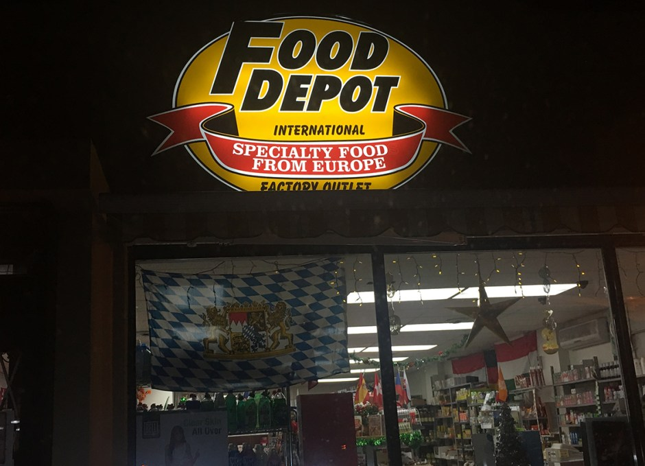 food depot store front