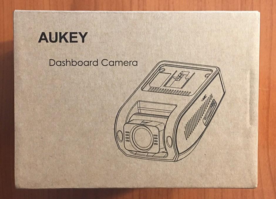 aukey dash cam in box