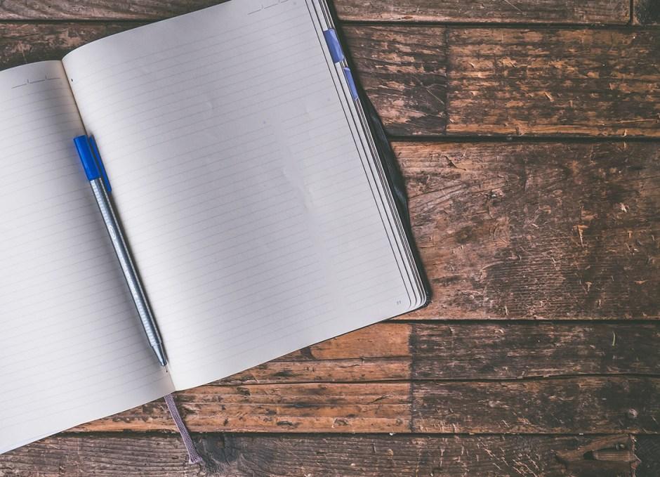 essay blank page