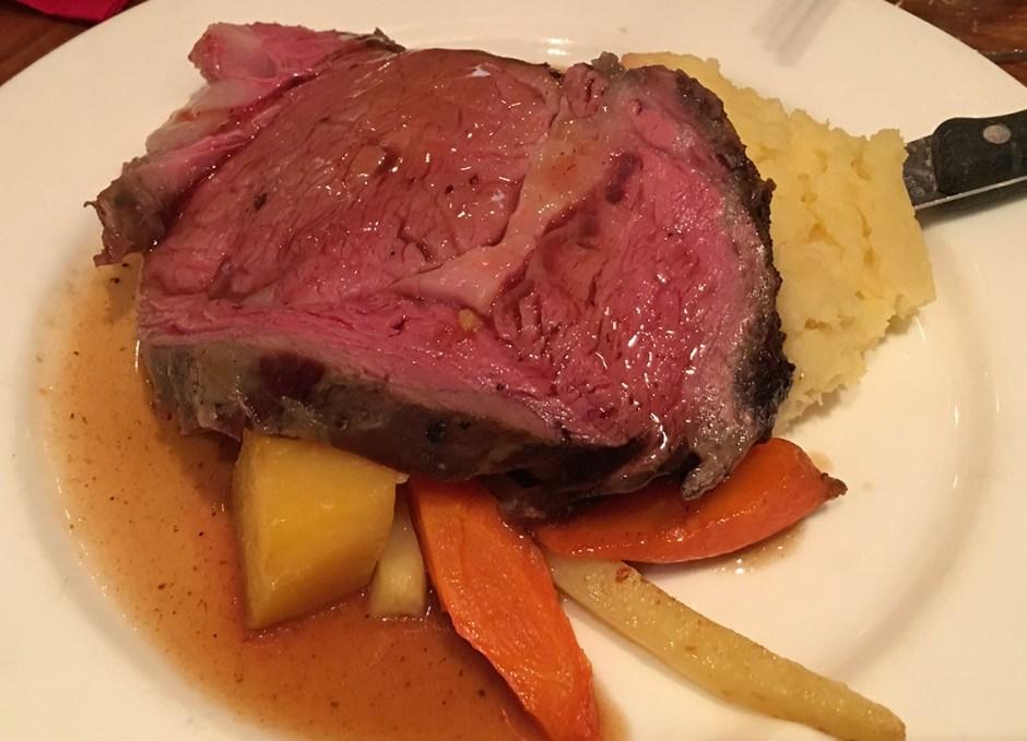 great food cedar prime rib