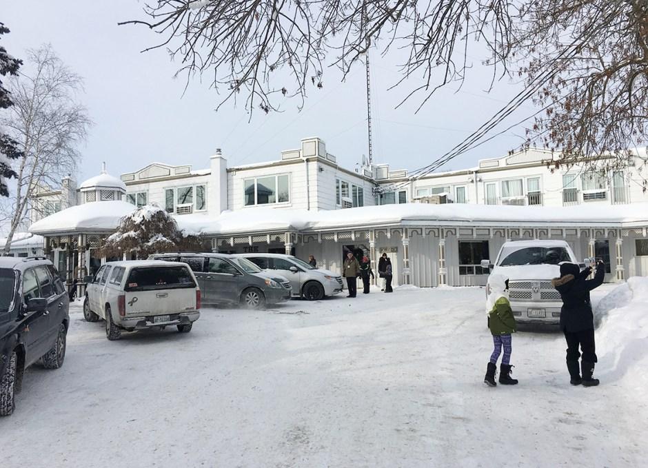 ice skating fern resort main building